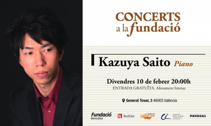 Kazuya Saito, pianista