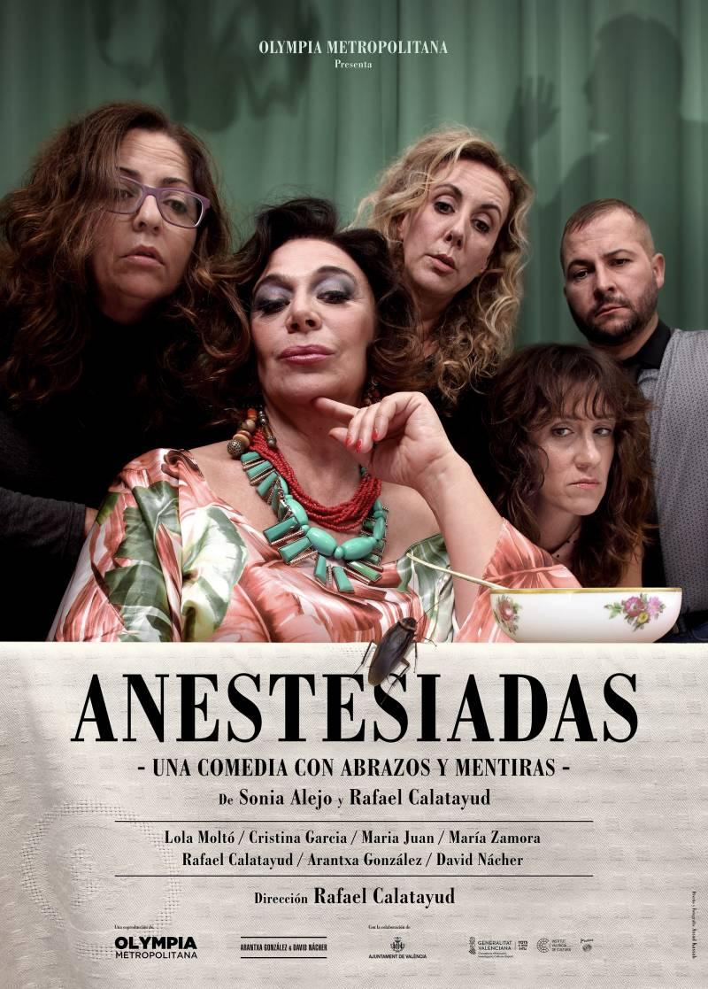Descubre una divertidísima comedia 'Anestesiadas' en el TAC de Catarroja