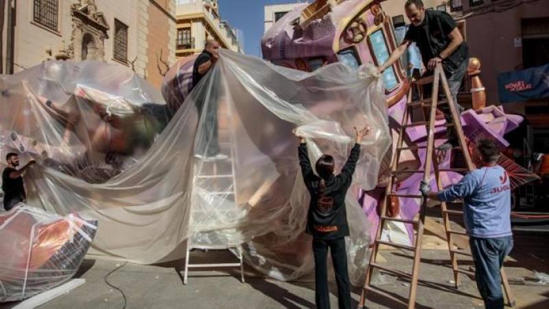 Imagen de archivo Falleras Mayores de Valencia 2020./ EPDA