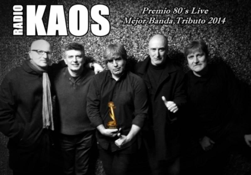 Radiokaos, en una imagen de promoción : : Black Note
