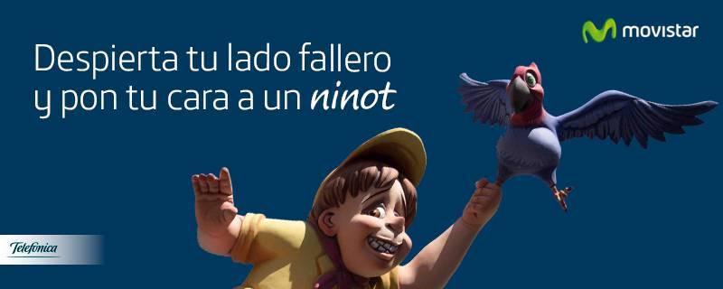Campaña de Telefónica. FOTO EPDA