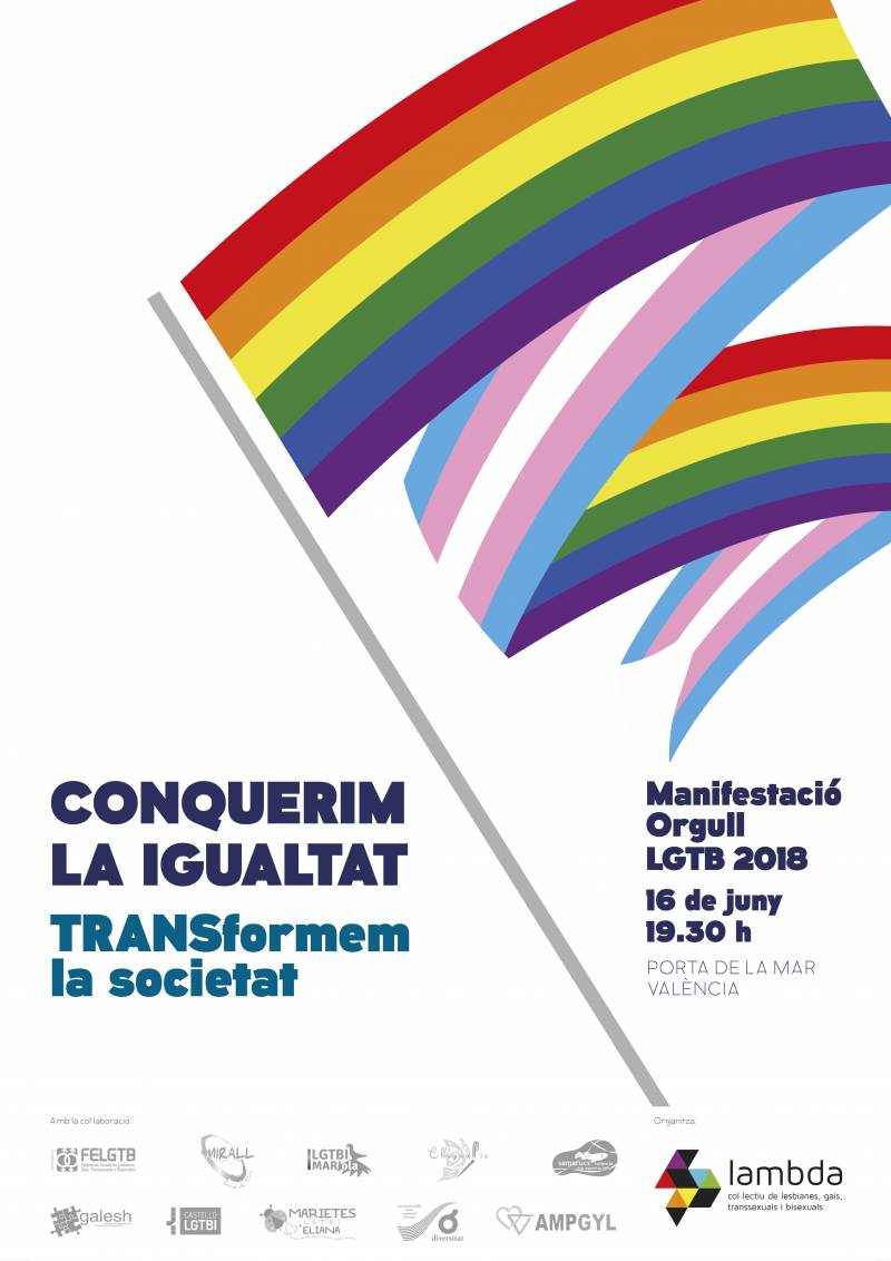Cartel Orgullo LGTBI 2018