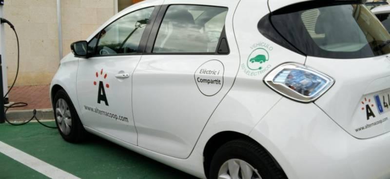 Uno de los vehículos eléctricos de AlternaCoop
