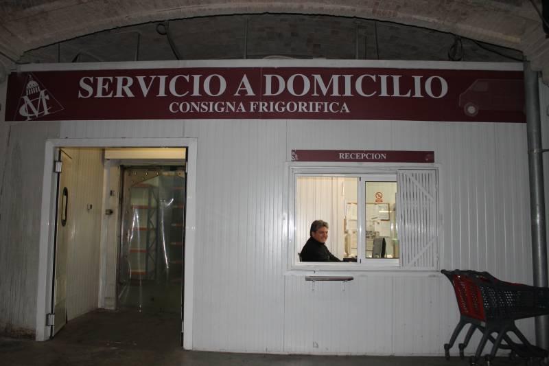 La consigna tiene una superficie de 200 metros cuadrados y capacidad para 100 carros//Viu València