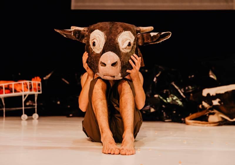 Espectacle La vaca que riu - Foto Nerea Coll