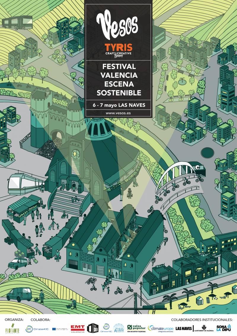 Cartel del Festival Vesos