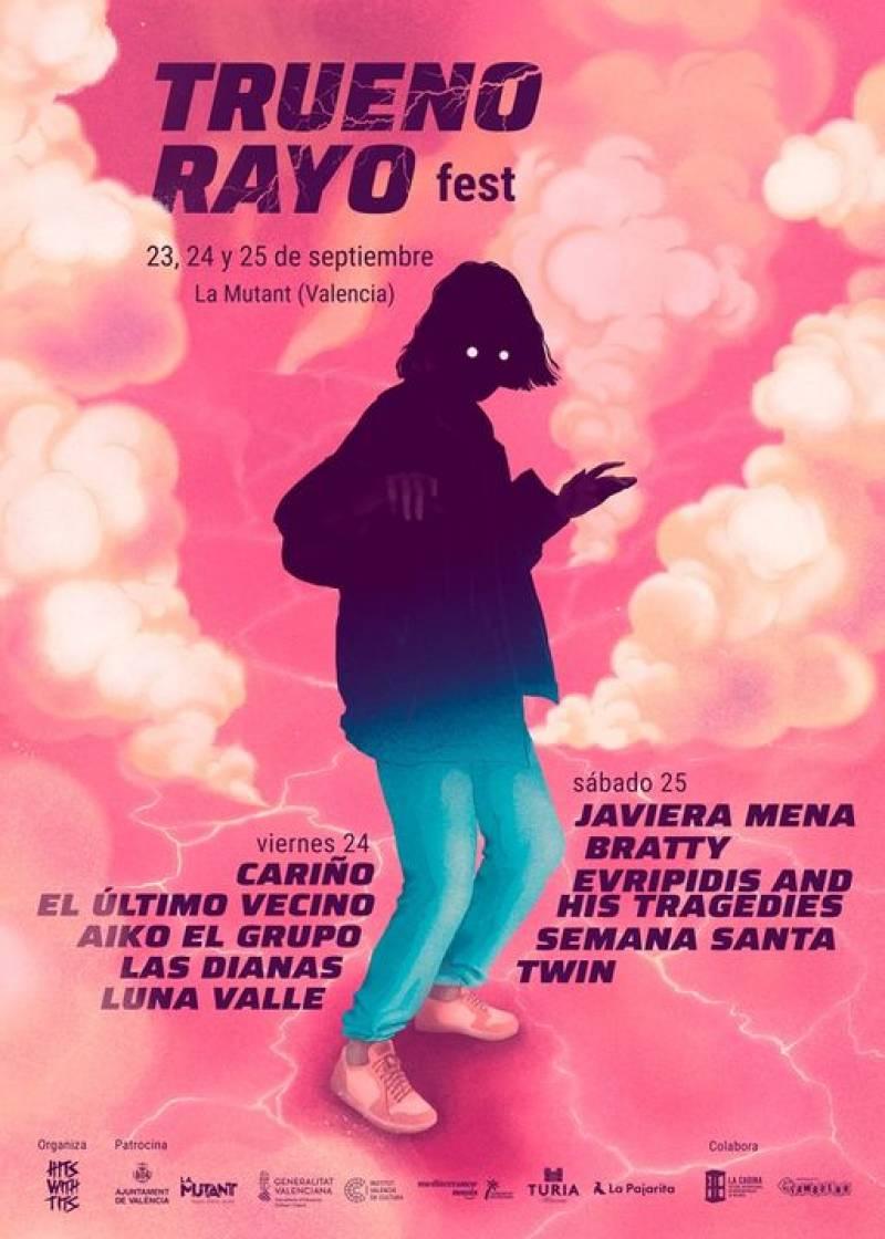 Cartell del Truenorayo Fest en La Mutant. Imagen: Truenorayo Fest