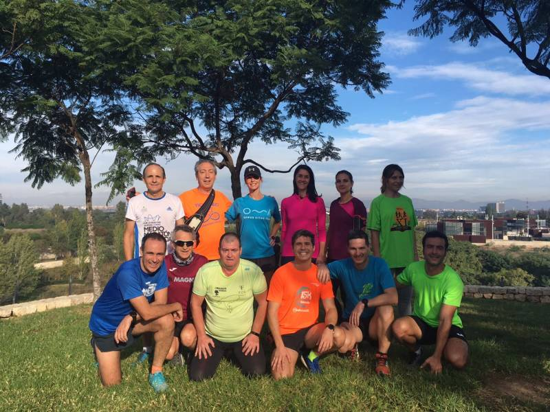 Runners valencianos
