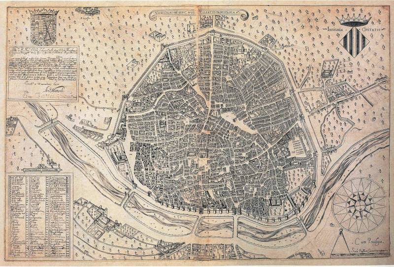 Plano de Antonio Mancelli. 1608