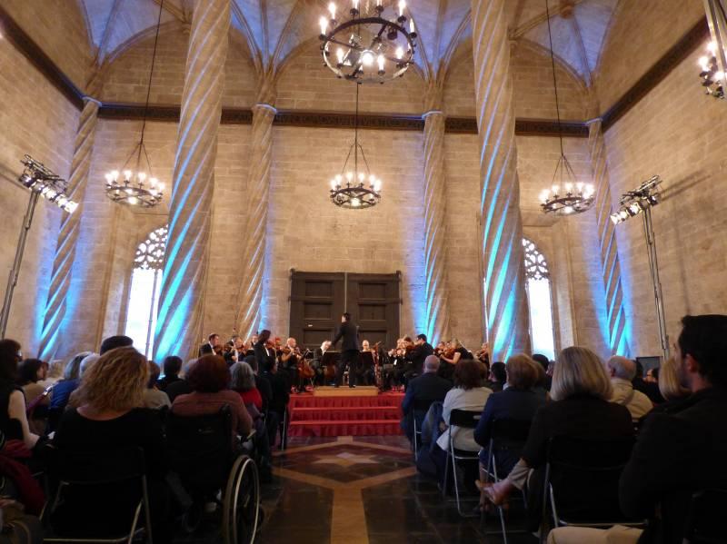 La Orquesta de València interpreta hoy en la Lonja la sinfonía nº 6 de Anton Bruckner