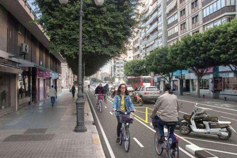 Estos son los nuevos carriles bici que llegarán a Valencia en 2018