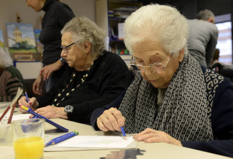 Talleres de arte para personas mayores