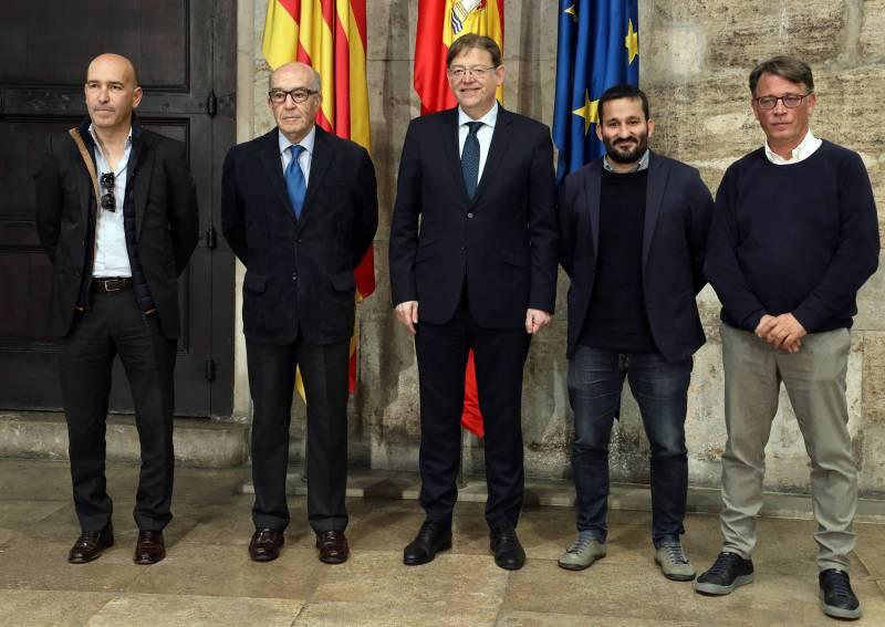 Ximo Puig anuncia la renovación del Gran Premio de la Comunitat Valenciana