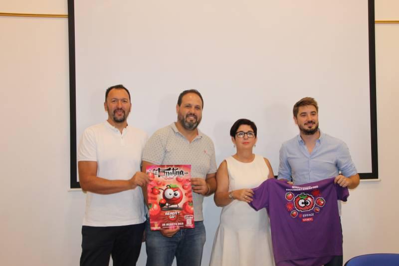 Rueda de prensa para la presentación de La Tomatina de Buñol.