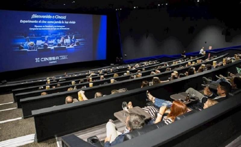 Imagen de archivo sala de cine Cinesa./ EPDA