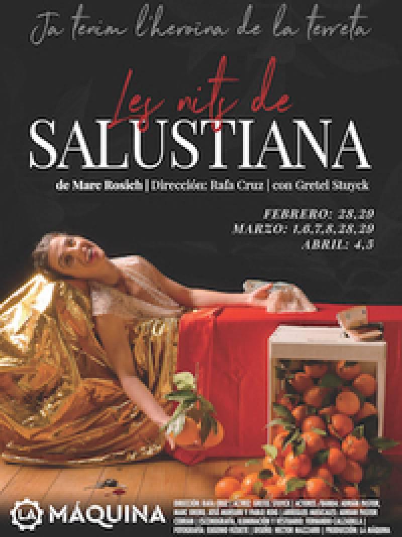La Máquina Teatro estrena Les Nits de Salustiana, el reflejo de una mujer que lucha en un mundo donde las reglas las dictan los hombres