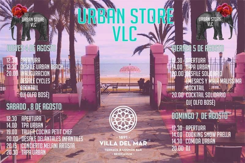 Programación de Urban Store VLC
