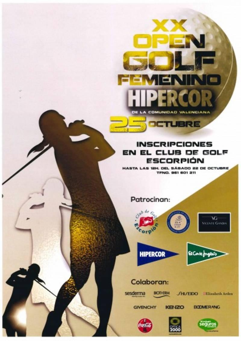 Cartel del Open de Golf