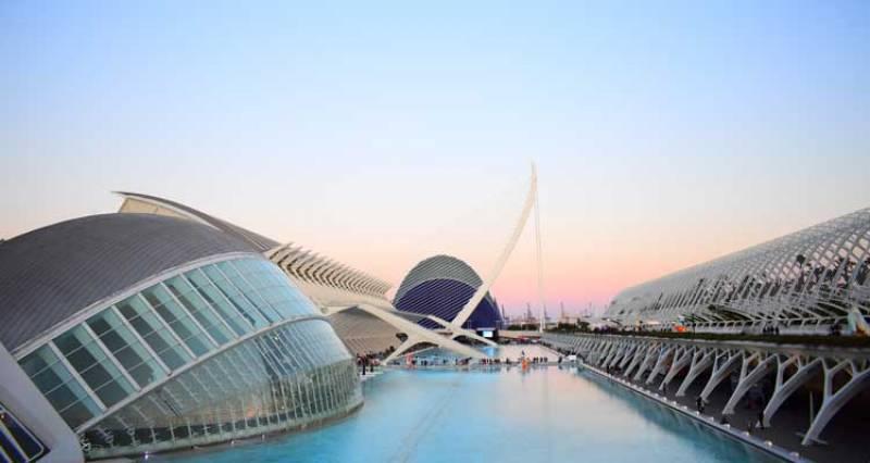 La Ciutat de les Arts i les Ciències de València. EPDA