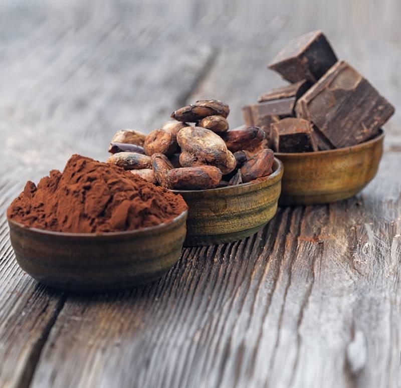 cacao natural.