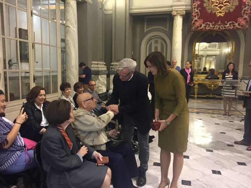 Homenatge persones centenàries