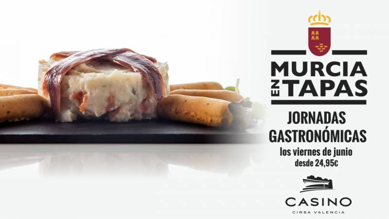 Jornadas Gastro Murcia Casino Cirsa Valencia