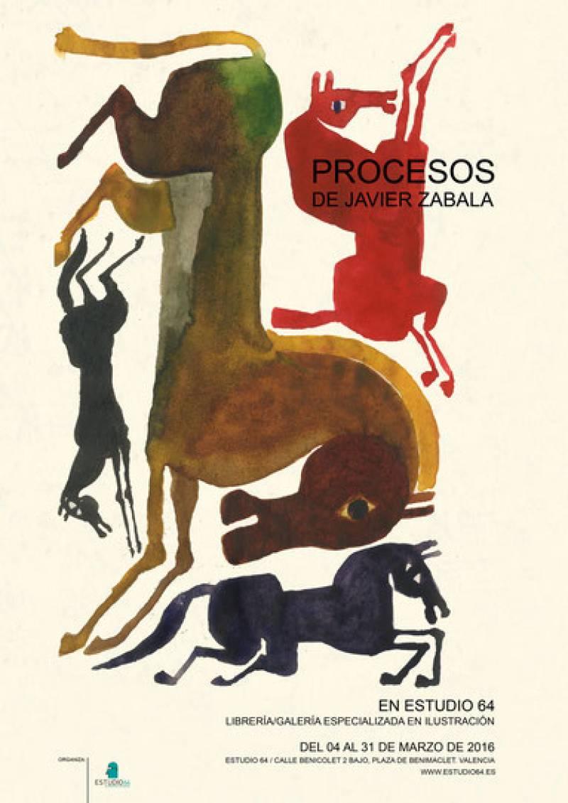 Cartel oficial de la exposición : : Estudio 64