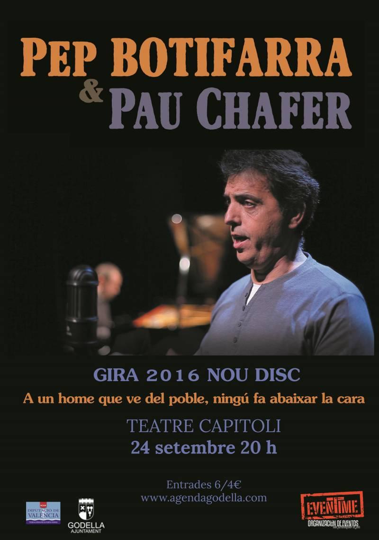 Cartel del concierto en Godella