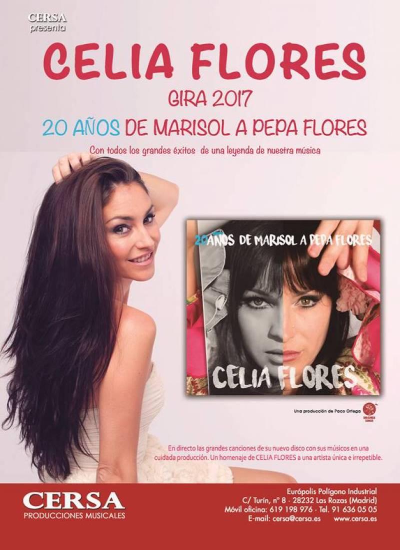 Cartel de la gira, 20 años de Marisol a Pepa Flores