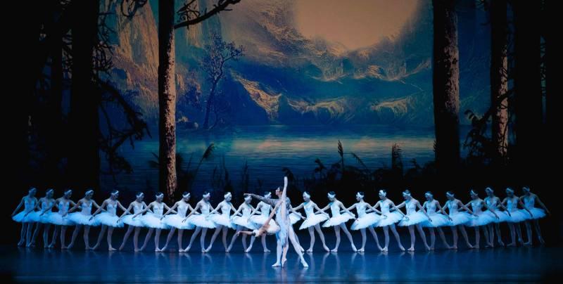 Espectáculo de ballet en el Palau de les Arts. EPDA