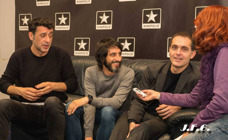 Entrevista a Nacho Fresneda, Marc Vigil y Pedro Alonso