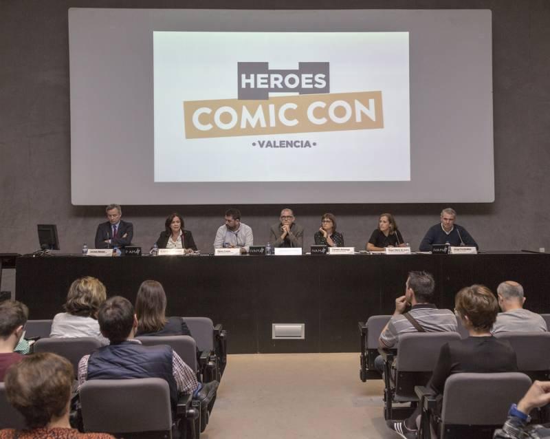 Presentación Comic Con IVAM