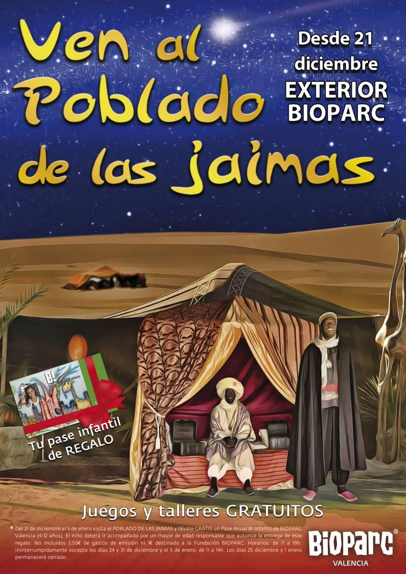 Navidades 2019 Poblado de las Jaimas BIOPARC Valencia