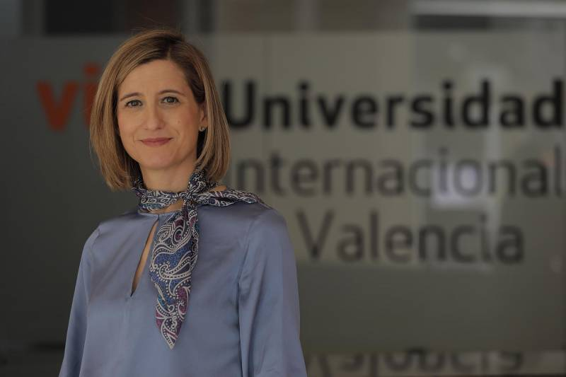 Eva Mª Giner, rectora de la VIU