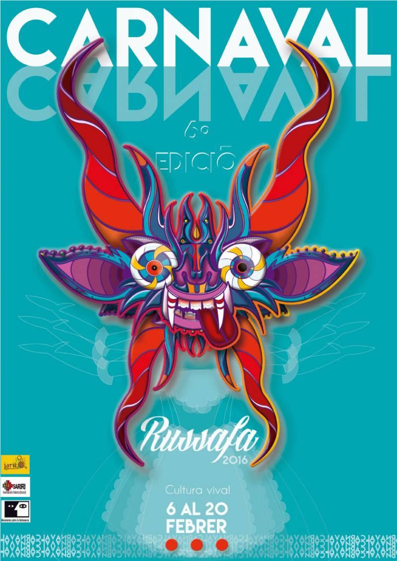 Cartel de presentación del Carnaval de Russafa : : Fnac