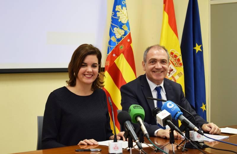 Sandra Gómez y Antonio Bernabé