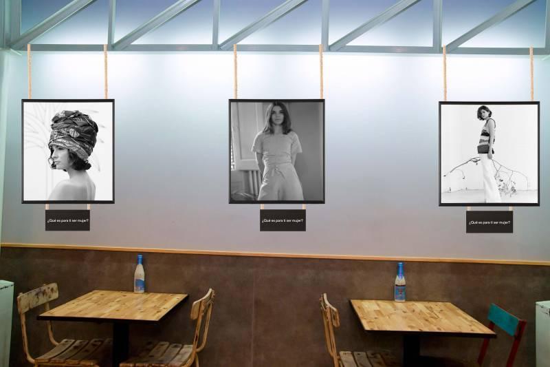 Recreación de la exposición que se inaugura el lunes// Viu València