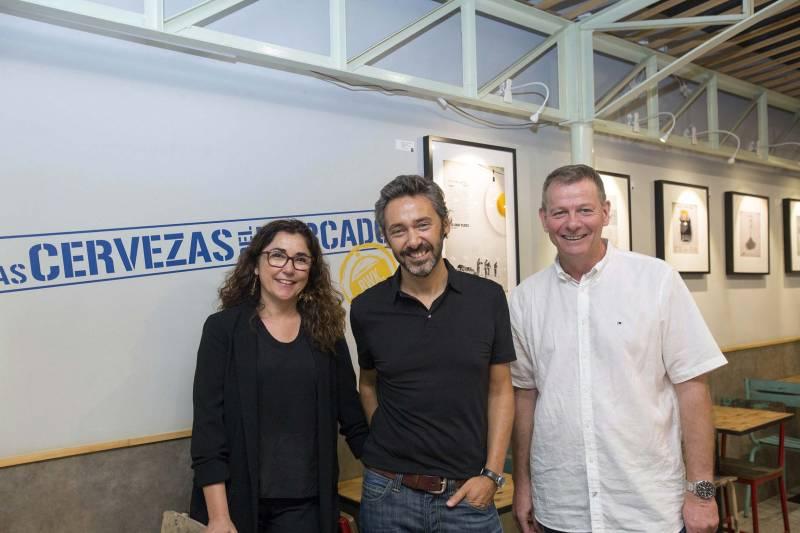 Anabel Navas, Fernando García del Real y Christian Jardel