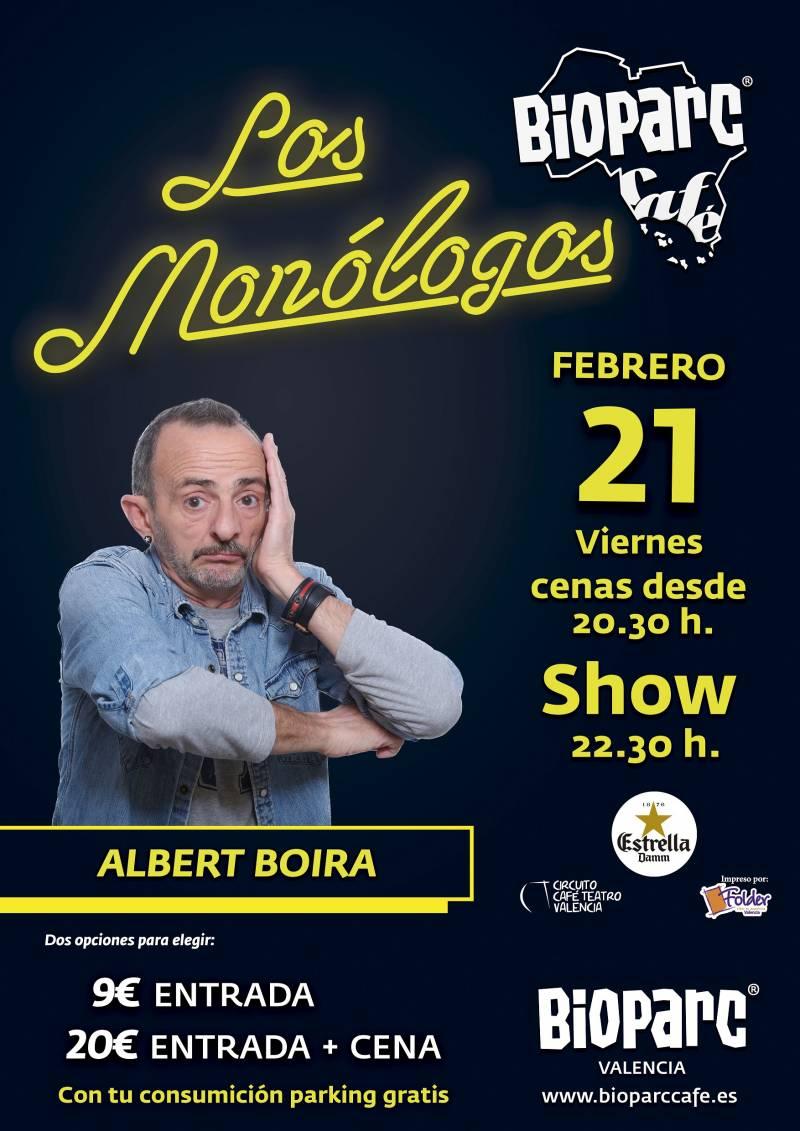 Los Monólogos de BIOPARC Café - 21 de febrero 2020 - Albert Boira