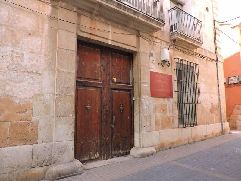 Casa de la Marquesa Valero de Palma de Denia