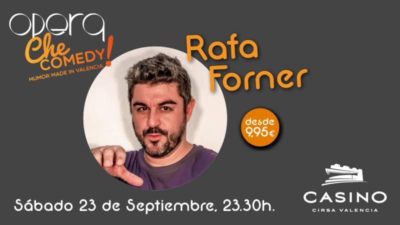 Rafa Forner en Casino Cirsa Valencia