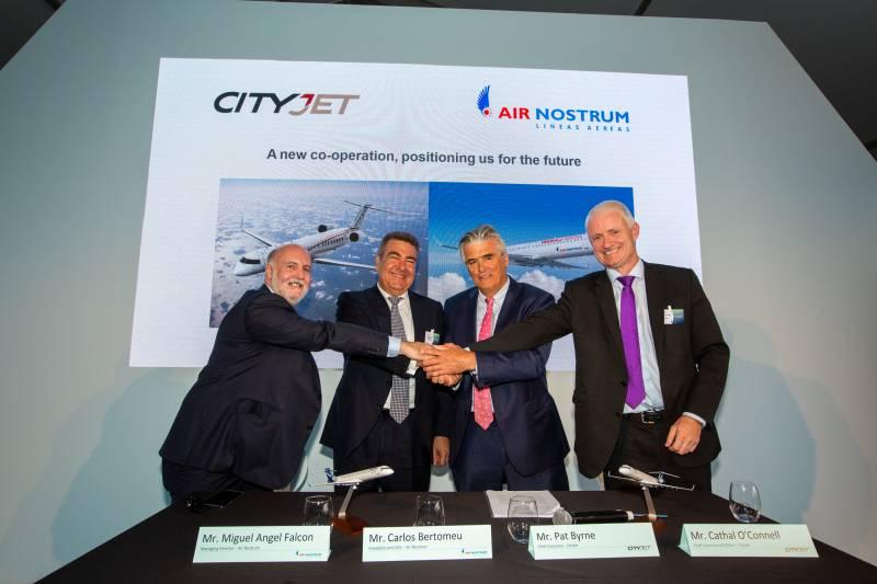 Air Nostrum y CityJet