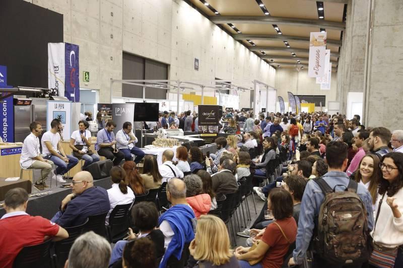 Público ayer domingo en Gastrónoma