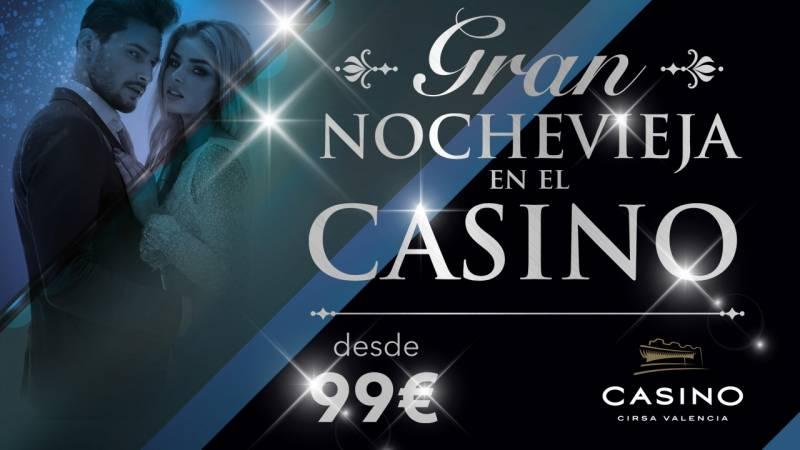 Nochevieja 2018 Casino Cirsa Valencia