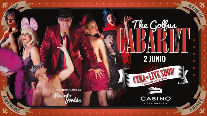 Cabaret junio Casino Cirsa Valencia