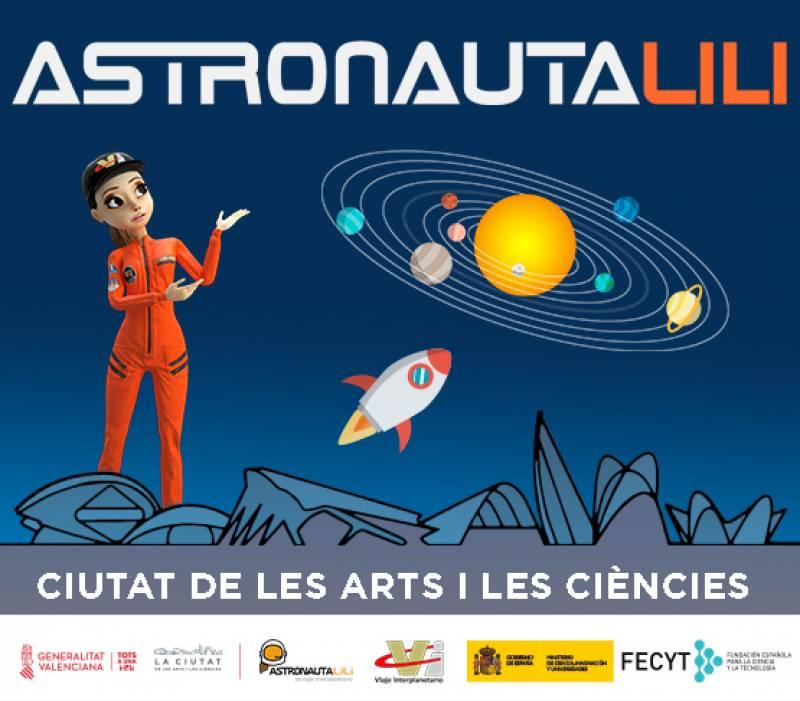 La Ciutat de les Arts i les Ciències celebra el Día de la Mujer y la Niña en la Ciencia con el 'Show científico de la Astronauta Lili'
