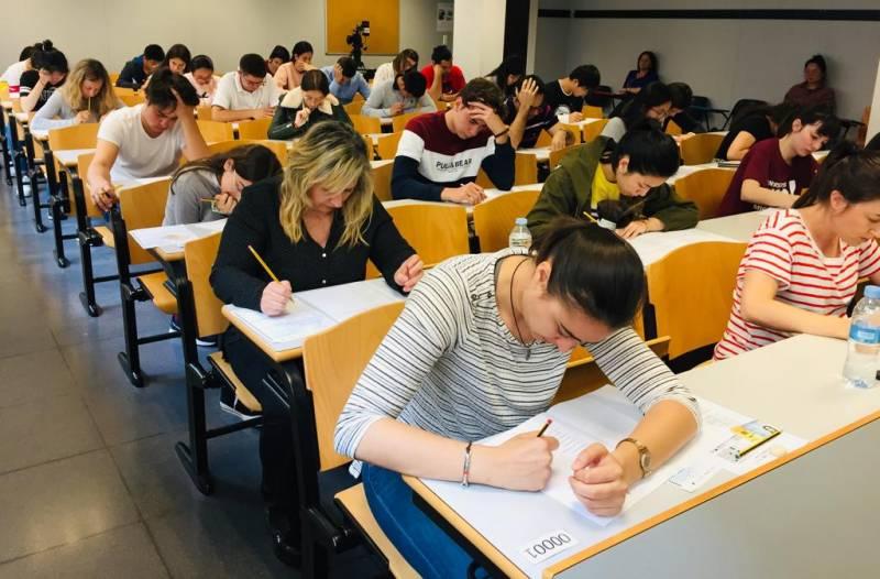 Exámenes chino