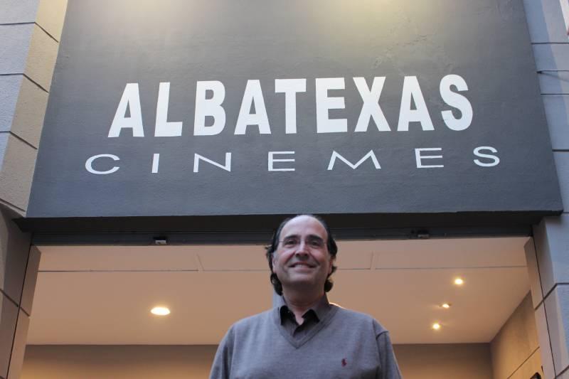 Xavier de la Red, gerente cine Albatexas