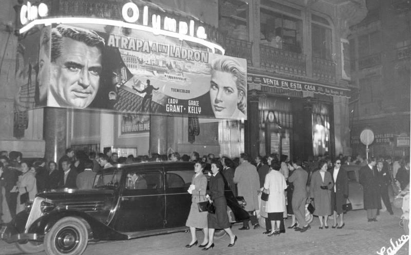 Foto de Antonio Calvo en 1951