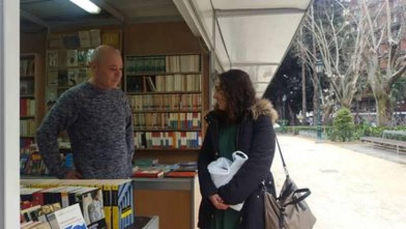 Feria del Libro Antiguo y de Ocasión, inaugurada por Glòria Tello